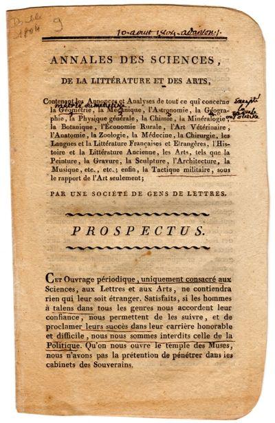 : chez Maillard, 1804. 12mo (approx. 7¼