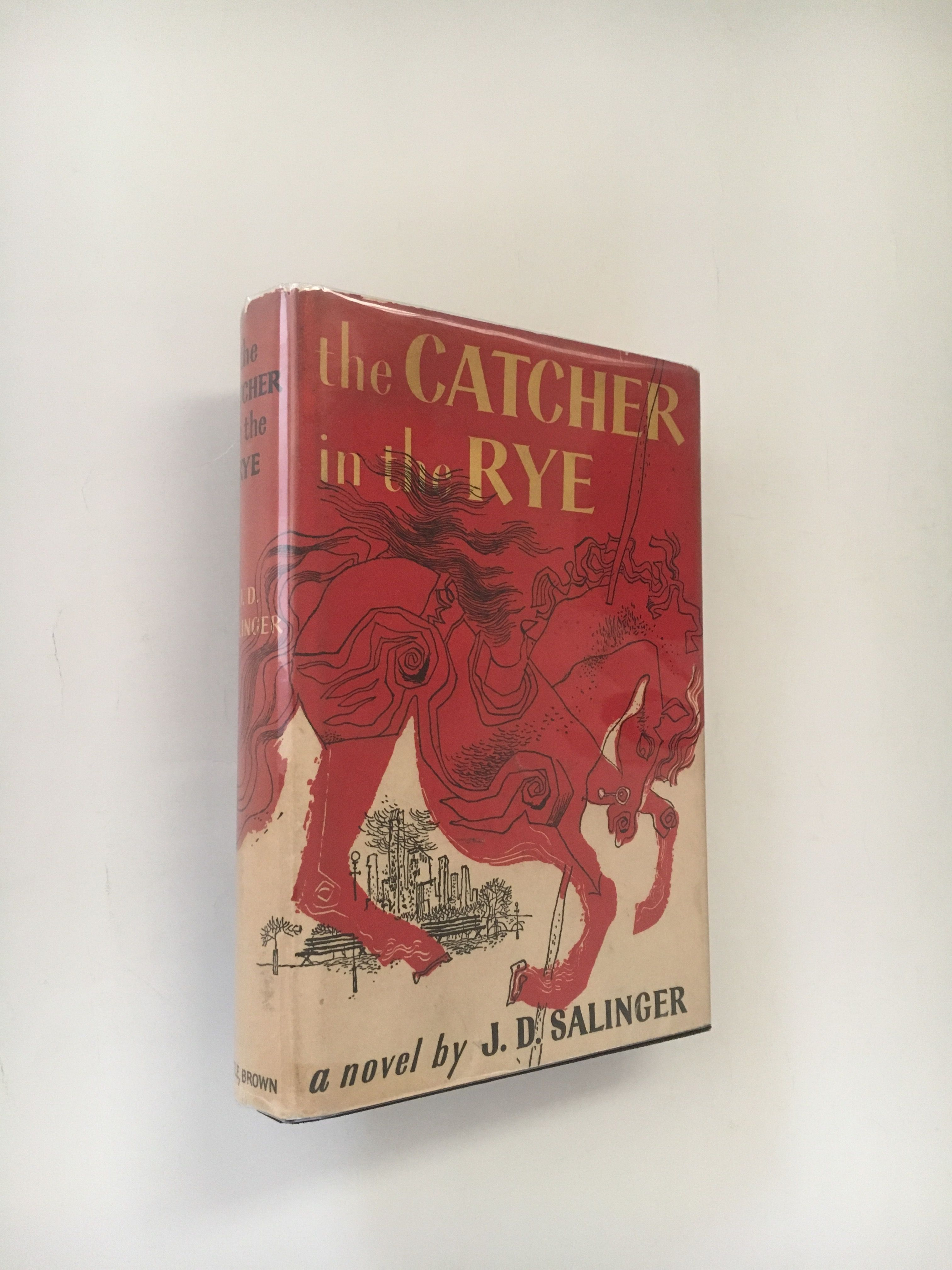 The Catcher In The Rye By Jd Salinger 1st 1951 From Anniroc