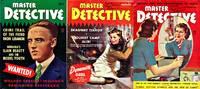 Master Detective (3 Vintage crime magazines, author copies, 1939)