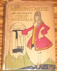 The Missing Muse and Other Essays by  Philip GUEDALLA - from My Book Heaven (SKU: 025244)