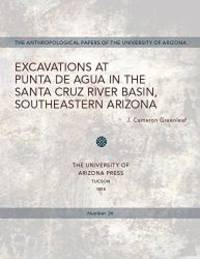 Excavations at Punta de Agua in the Santa Cruz River Basin, Southeastern Arizona (Anthropological...