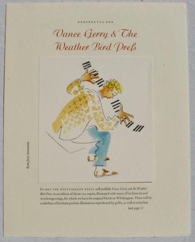 Vance Gerry & the Weather Bird Press:...