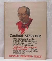 image of Cardinal Mercier - Eat less wheat - meat - fats and sugar