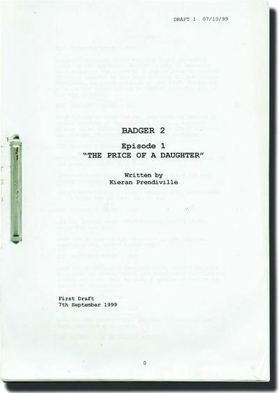 London: British Broadcasting Corporation , 1999. Draft scripts for two Season 2 episodes of the 2000...