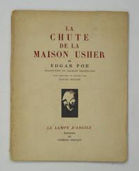 La chute de la maison Usher. Traduction de Charles Baudelaire, Bois dessinés et gravés par...