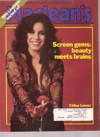 Maclean's:  Canada's  Newsmagazine  -- November 13, 1978, - Holy Heroines, Real Bouvier, Andre Laplante, Celine Lomez, Rene Levesque, Stan Lee, Red Sonja, New Wave Music,