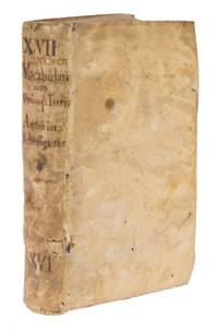 Vocabularium Utriusque Iuris [Juris], Nuperrime Summa Cura Summoque..