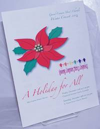 A Holiday for All Winter Concert 2004 [souvenir program] by Grand Canyon Men's Chorale - 2004 - from Bolerium Books Inc., ABAA/ILAB (SKU: 260096)
