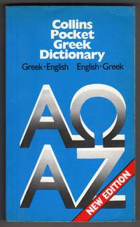 Collins Pocket Greek Dictionary [Greek-English / English-Greek] by  and Helen George-Papageorgiu Harry T. Hionides; Niki Watts - Paperback - First Thus - 1988 - from bookarrest (SKU: IL465)