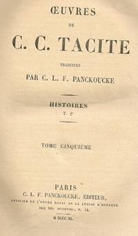OEUVRES DE C.C.TACITE TRADUITES PAR C.L.F.PANCKOUCKE TOME CINQUIEME