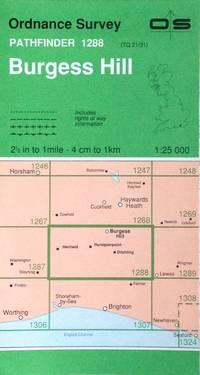 Burgess Hill Pathfinder map sheet 1288