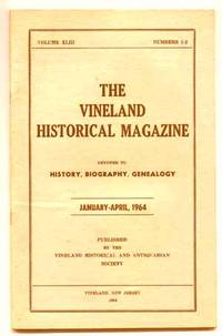 Vineland NJ: Vineland Historical and Antiquarian Society, 1964. Softcover. Fine. First edition. Volu...