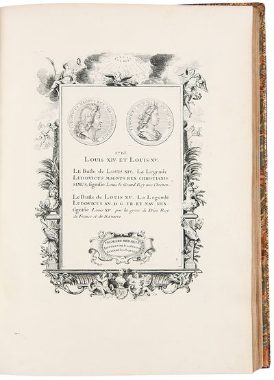 Médailles du règne de Louis XV