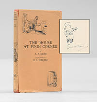 The House at Pooh Corner. With an original pen and ink drawing of Winnie the Pooh.