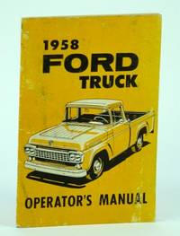 1958 Ford Truck Operator's Manual