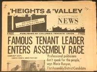 image of 'Heights and 'Valley News. Vol. I no. 3 (April 1974)
