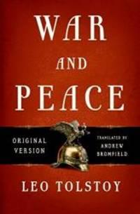 image of War and Peace: Original Version