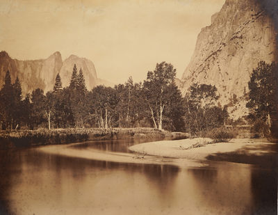 View From Camp Grove, Yosemite.