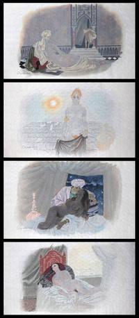 Le Cantique des cantiques. Lithographies originales par Chapelain-Midy. Traduction inédite due à Pierre Mariel.