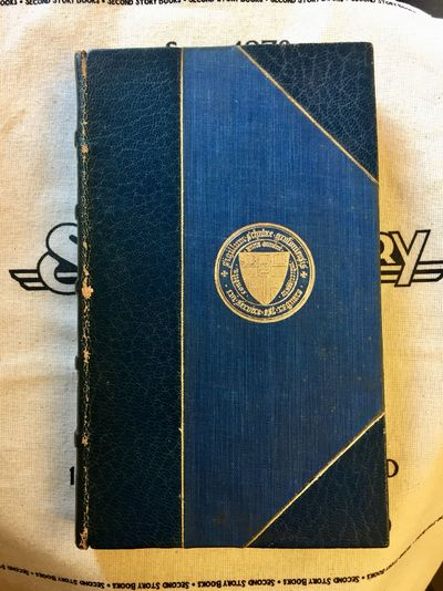 London: J.M. Dent & Co, 1905. 1905 Reprint. 16mo; xi, 310 pg; VG; bound in 3/4 dark blue leather on ...