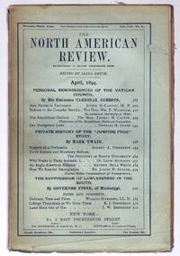 """""""Private History of the 'Jumping Frog' Story"""" in THE NORTH AMERICAN REVIEW, April, 1894"""
