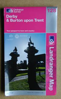 Ordnance Survey Map. Derby & Burton Upon Trent. Sheet 128.