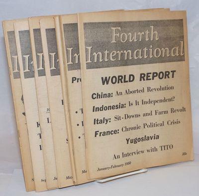 New York: Fourth International Publishing Association, 1950. Magazine. Six bimonthly issues of the j...