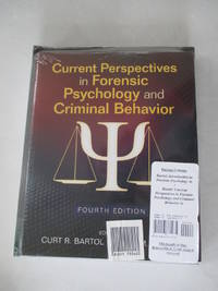 BUNDLE: Bartol: Introduction to Forensic Psychology 4e + Bartol: Current Perspectives in Forensic...