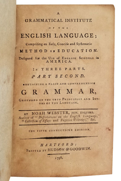 GRAMMATICAL INSTITUTE OF THE ENGLISH...