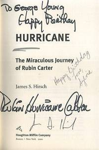 image of HURRICANE: THE MIRACULOUS JURNEY OF RUBIN CARTER