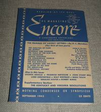 image of The Magazine Encore for September 1943