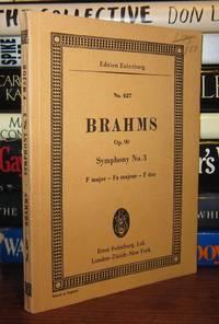 image of BRAHMS - SYMPHONY NO. 3, F MAJOR, OPUS 90