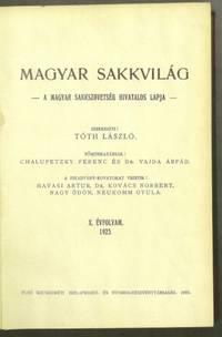 Magyar Sakkvilág, Volume X