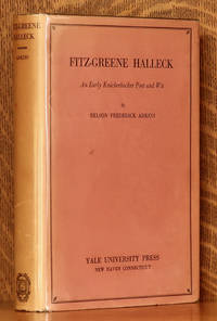 image of FITZ-GREENE HALLECK EARLY KNICKERBOCKER WIT AND POET
