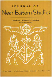 image of Journal of Near Eastern Studies (Vol 30, October 1971, No. 4)