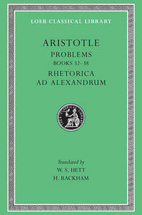 Problems, Volume II: 16 (Loeb Classical Library) by Aristotle - Hardcover - from The Saint Bookstore (SKU: A9780674996564)