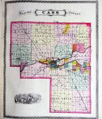 image of COMBINATION ATLAS MAP OF CASS COUNTY INDIANA