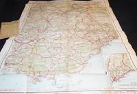 image of Grande Carte Routiere No. 17: Midi de la France: Section Est Htes et Bses Alpes, Provence, Cote d'Azur