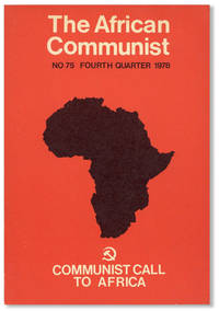 image of The African Communist (Quarterly). No. 75 - Fourth Quarter 1978