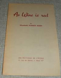 image of As Wine is Red