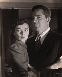 image of The Iron Curtain (Original photograph of Gene Tierney and Dana Andrews from the 1948 film)