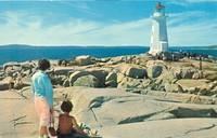 Canada – Peggy's Cove Lighthouse, Nova Scotia, unused Postcard