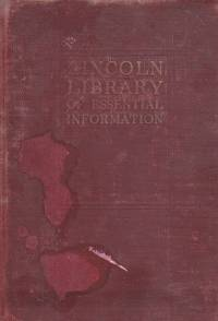 image of The Lincoln Library of Essential Information