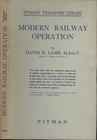 Modern Railway Operation (Pitman's Transport Library)