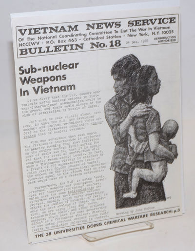 New York: Vietnam News Service of the National Coordinating Committee to End the War in Vietnam, 196...