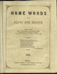 """Home Words for Heart and Hearth.  St. James', Tunbridge Wells Parish Magazine, with """"View on the Swan River, Western Australia"""" after Huggins"""