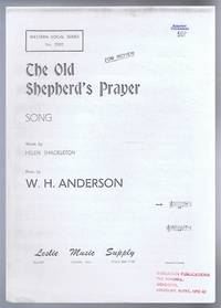 The Old Shepherd's Prayer, Song. Western Vocal Series No. 7002. Middle C sharp to C natural