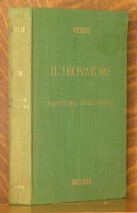 IL TROVATORE, PARTURTITA D'ORCHESTRA (ORCHESTRAL)