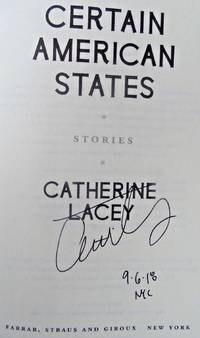 CERTAIN AMERICAN STATES (SIGNED, DATED, NYC)