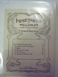 Impressions at Wellesley - No. 6: The Little Brown Leaf